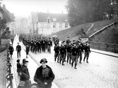 Menin Gate Memorial Ypres Salient Wwi
