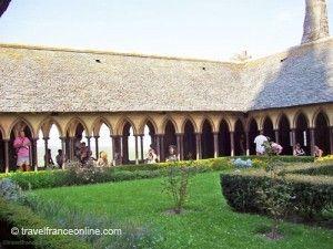 Mont-St-Michel-Cloisters
