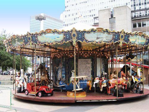 Carrousels merry go rounds around paris - Gare montparnasse porte maillot ...