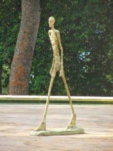 Maeght-Foundation-St-Paul-de-Vence-Man-Walking-by-Giacometti
