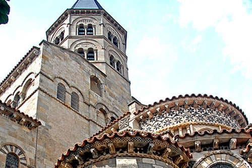 Notre dame du port basilica clermont ferrand - Basilique notre dame du port ...