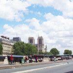 Bouquinistes near Notre-Dame