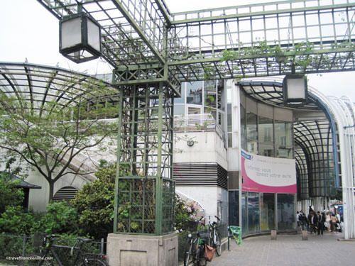 Main entrance in 2010