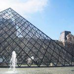 Pei's Pyramid - Louvre Museum