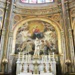 Saint Eustache Church - Chapelle de la Vierge - statue by Pigalle