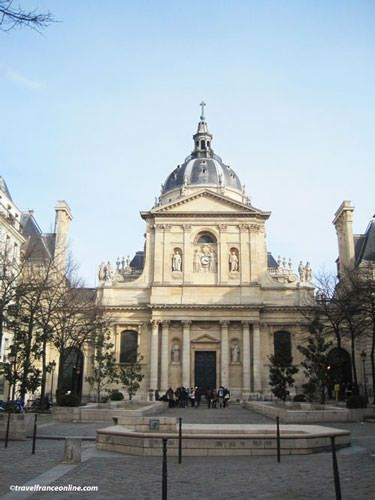 Sorbonne university paris latin quarter for Sorbonne paris