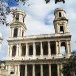 St Sulpice Church - Eclectic facade and mismatched towers