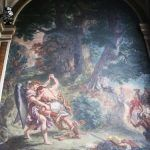 St Sulpice Church - Jacob wresting the Angel by Delacroix
