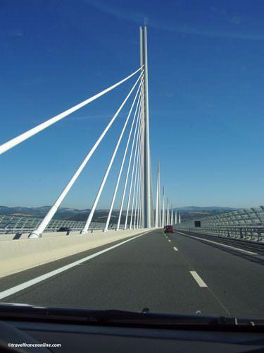 Millau Viaduct by car