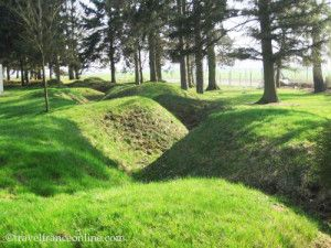 Newfoundland-Memorial-Park-trenches