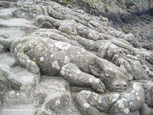 Rotheneuf Carved Rocks