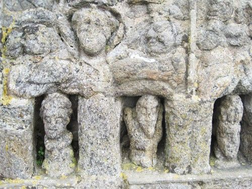 Rotheneuf Carved Rocks - Chapel of Saint-Budoc overlooking the Paradise Chasm