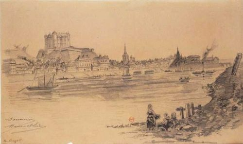 Saumur and Loire 19th century
