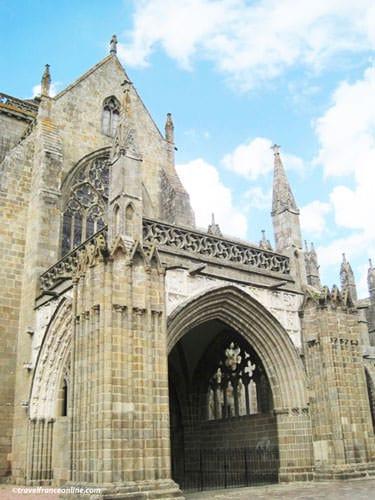 Saint-Samson Cathedral - Gothic Grand Porche - Dol de Bretagne