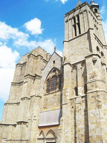Saint-Samson Cathedral main facade in Dol de Bretagne