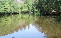 Miroir aux Fees in Broceliande Forest