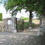 Entrance to Oradour-sur-Glane