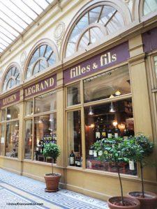 Galerie Vivienne - Legrand & Fils epicerie