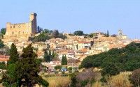 Chateauneuf du Pape village in Provence