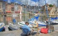 Honfleur – port – seaside resort – Normandy