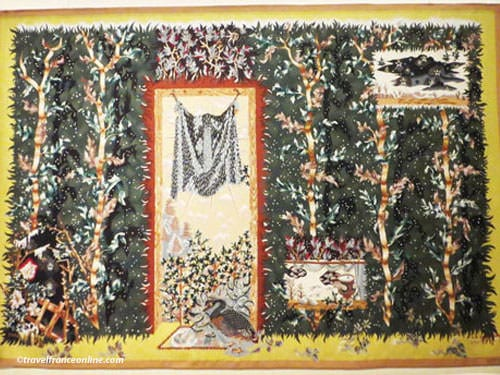 Aubusson Tapestry - L'Hiver by Jean Lurcat - wool - 1941
