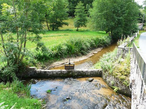 Perigord-Limousin Regional Nature Park - Moulin Piangaud at La Coquille