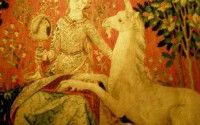 Chateau de Boussac – Lady with the Unicorn tapestry