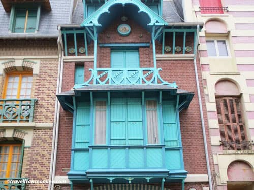 Belle-Epoque architecture in Mers-les-Bains