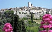 Saint Paul de Vence village and artists
