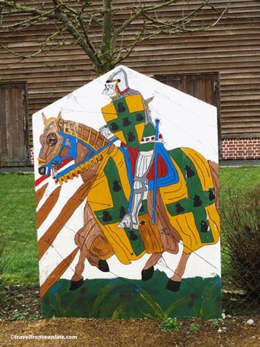 Battle of Agincourt - Knight silhouette