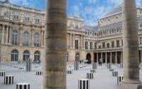 Colonnes de Buren – Palais-Royal – Paris