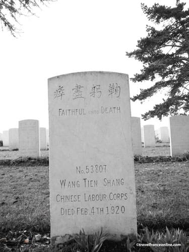 Nolette Chinese Cemetery - 1 of the 841 graves