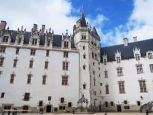 Castle of the Dukes of Brittany - Grand Logis, Tour de la Couronne and Grand Gouvernement