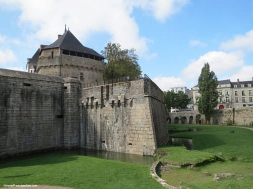 Castle of the Dukes of Brittany in Nantes - fortifications