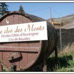 Côtes d'Auvergne Boudes vineyard near Vallée des Saints