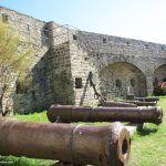 Ile de Noirmoutier - Canons from English vessel Maidstone seized in 1747 - Chateau de Noirmoutier