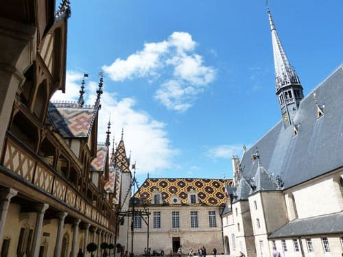Hospices de Beaune - Hôtel-Dieu and chapel