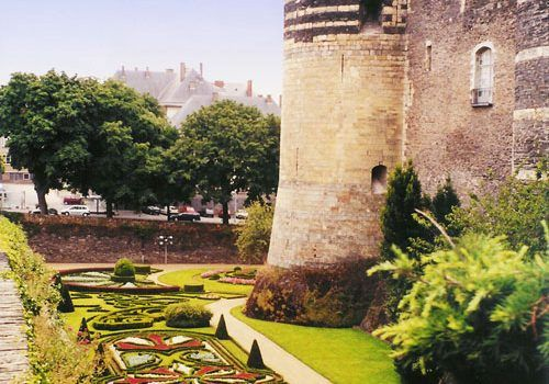 Angers-Chateau-moats-Loire-Valley