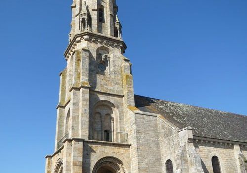 Eglise-Saint-Malo-Ivignac-la-Tour-bell-tower