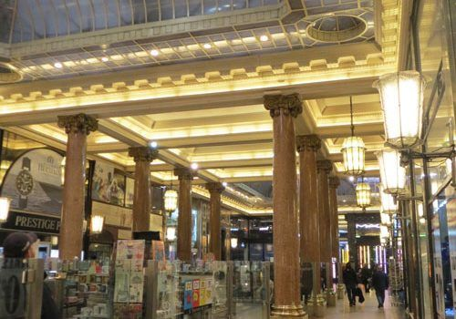 Les-Arcades-des-Champs-Elysees-columns-and-glass-roof